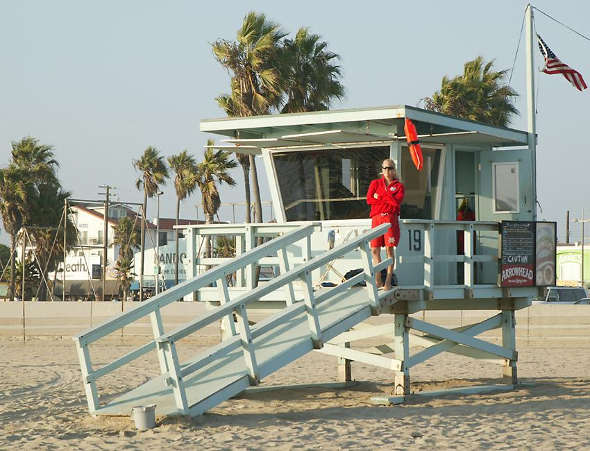 Venice Beach Life Guard